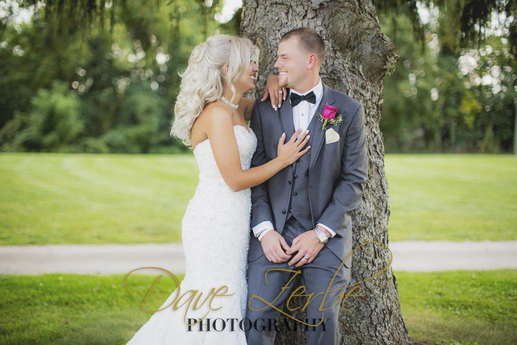 Parkinson Wedding - Wedding Photos taken by Dave Zerbe Photography
